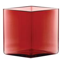 iittala Ruutu Cranberry Vase
